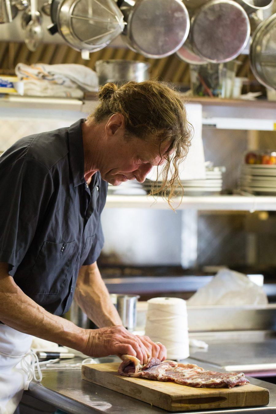 Dan Smith of John Andrews Cooking - photo by Michelle Girard